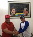 Встреча с губернатором штата Яракуй Julio Leon Heredia
