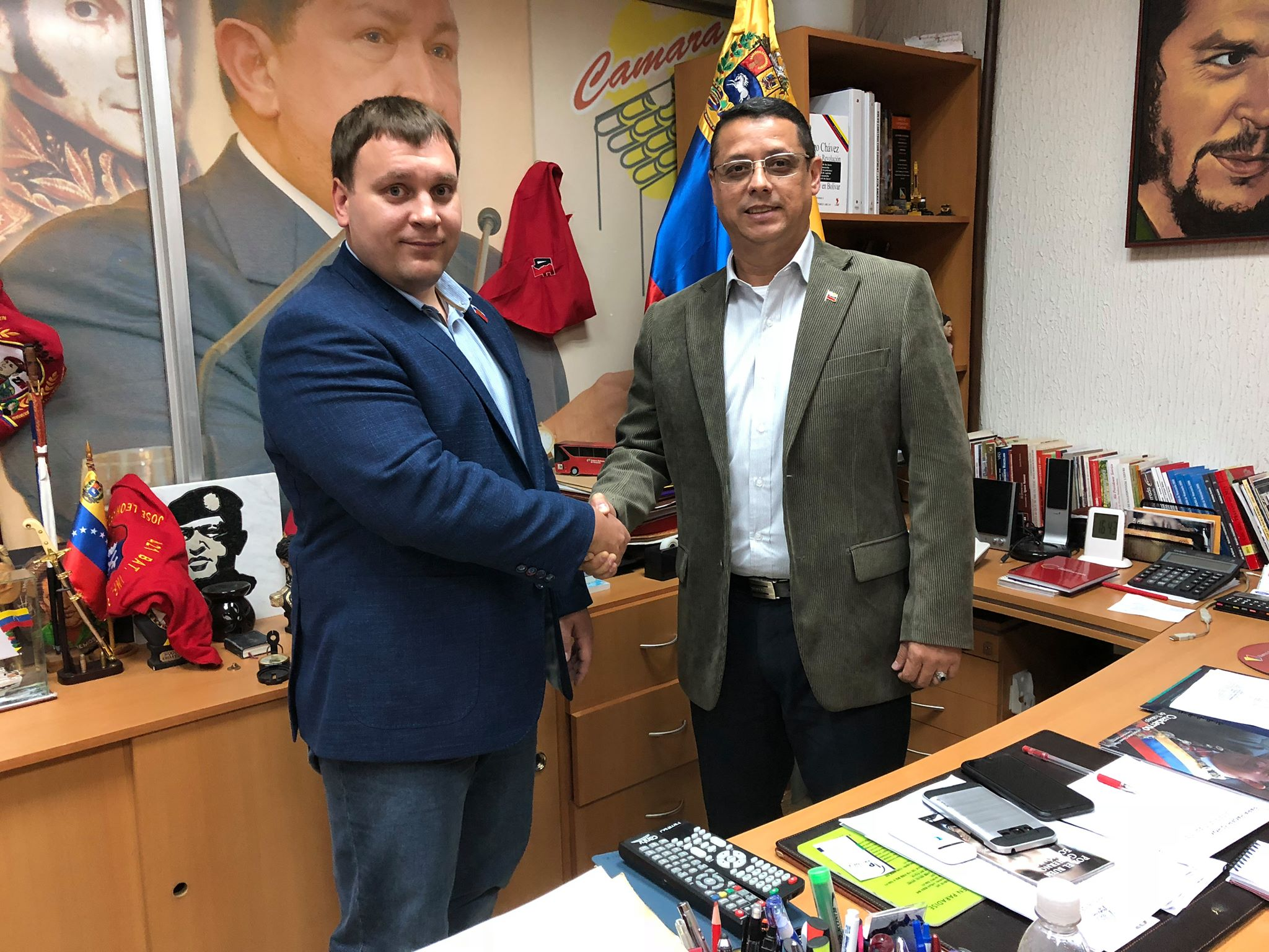 Встреча с главой Венесуэльской Торгово-Промышленной Палаты