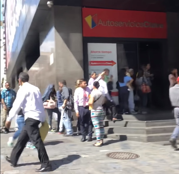 Трудности с наличными деньгами в Венесуэле