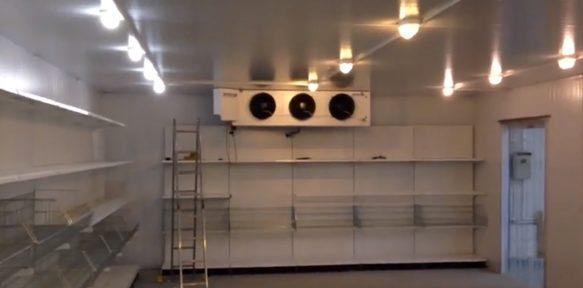 СоюзХолодУрал Выполненный объект - Монтаж промышленной камеры